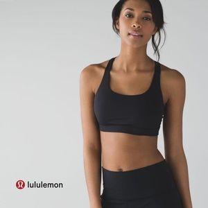 Lululemon Black Energy Bra 100205